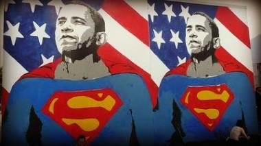 obama,elezioni usa,america,presidente stati uniti,superman