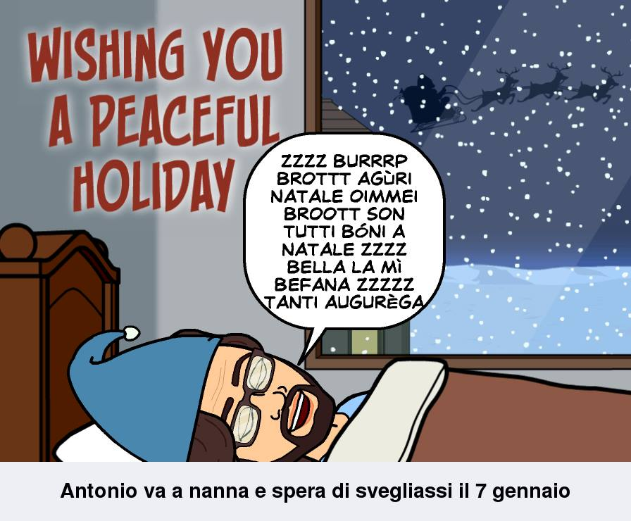 Tanti Augurega di Buone Feste e Felicega Anno Nuovo