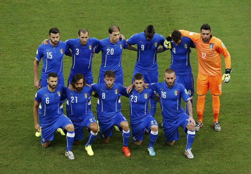 L'Italia comincia bene (e l'inglesi riscòtano)