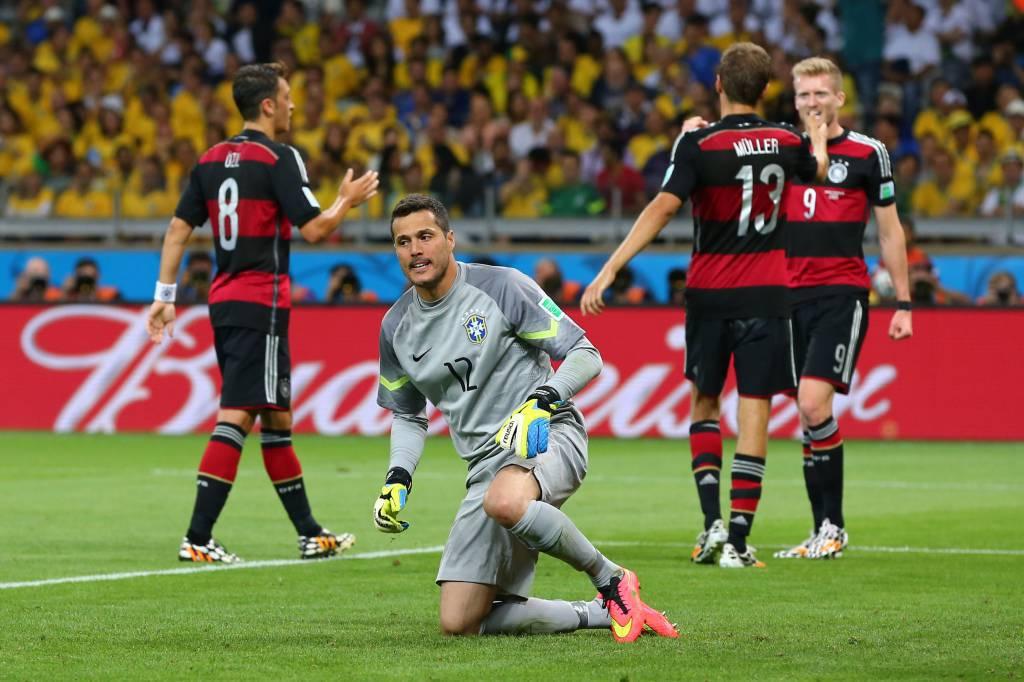 Clamorosa sconfitta del Brasile asfaltato dalla Germania