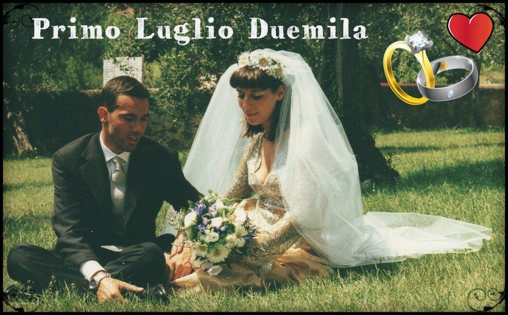 Primo Luglio Duemila (anniversario di matrimonio)