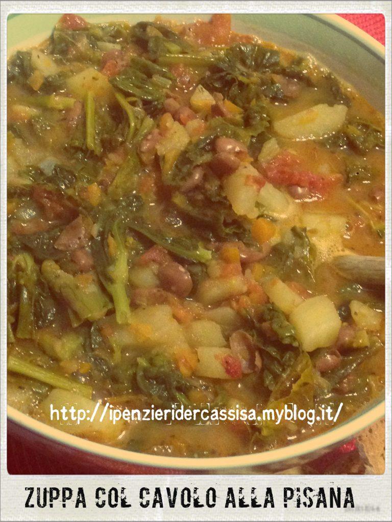 Zuppa col cavolo alla pisana